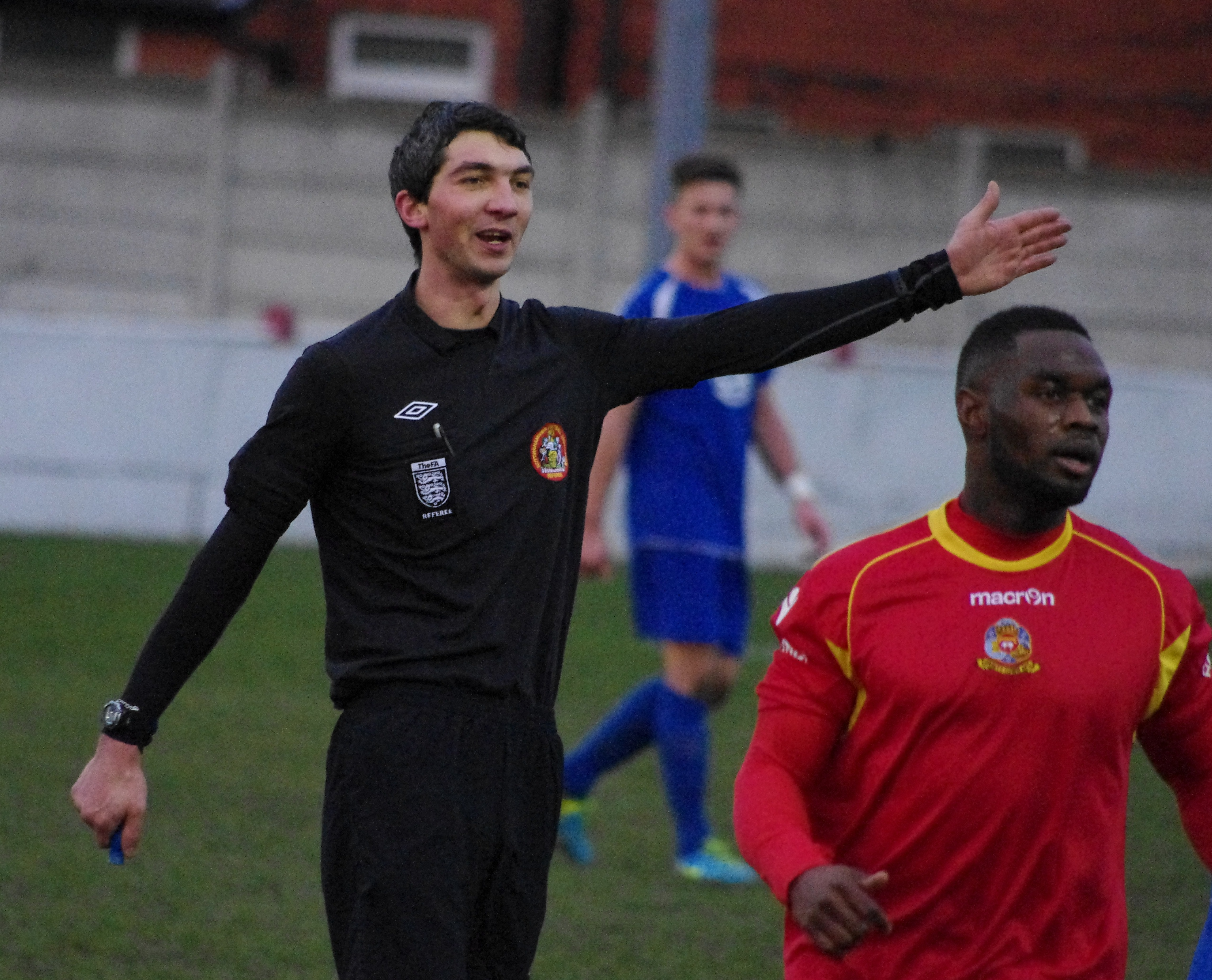 Farcical scenes conclude harrogate railway 39 s draw at for Farcical scenes