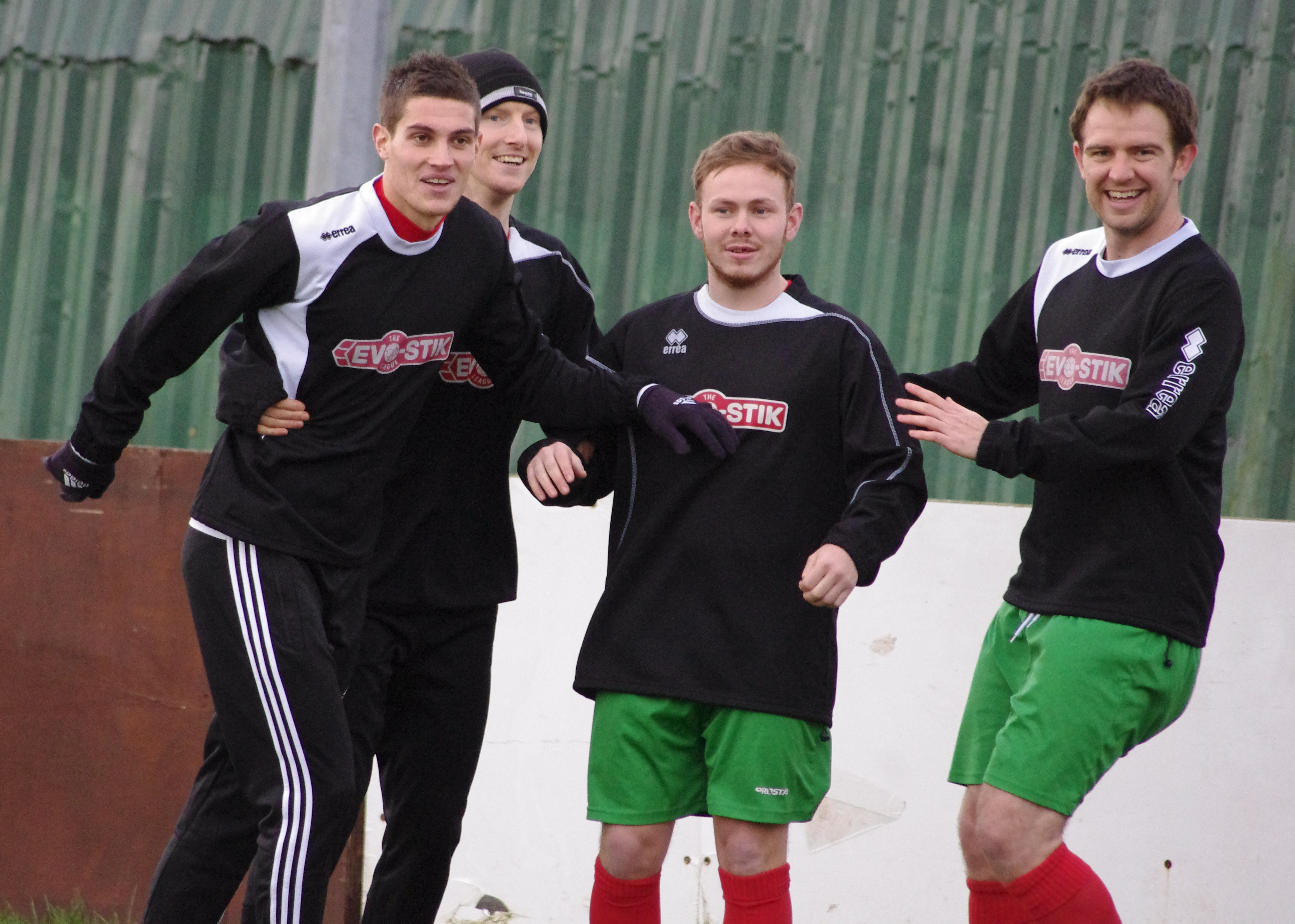 The players enjoy playing for Harrogate Railway