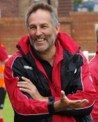 Knaresborough Town players are smiling again, according to Brian Davey after their 1-0 win at Yorkshire Amateur last night