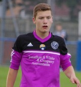 Attacking midfielder Luke Managham played the second half of Garforth's 4-1 defeat at Cleethorpes in goal and kept a clean sheet