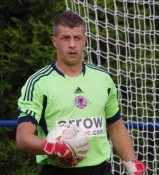 Shaw Lane Aquaforce goalkeeper Jamie Bailey made a string of excellent saves in the 2-2 draw with Handsworth Parramore