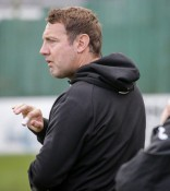 Spennymoor manager Jason Ainsley believes his players have nothing to lose in the FA Cup fourth qualifying round tie with AFC Telford. Picture: Caught Light Photography