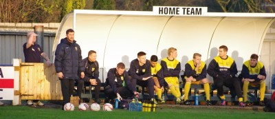 Tadcaster Albion manager Paul Marshall said he did not watch Liam Ormsby's last minute penalty which put his side through in the FA Vase