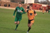 Connor Bower was on the scoresheet again for Ossett Albion. Photo: Adam Hirst