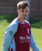 Max Leonard is back playing for AFC Emley