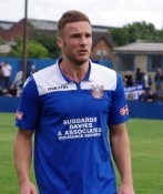 Aiden Savory scored the winner for Farsley AFC in their 2-1 win over Droylsden