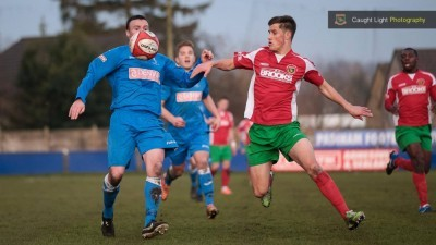 New Harrogate Railway striker Jerry Yates scored on his debut against Padiham
