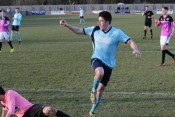Scott Phillips has pledged his future to Barton Town Old Boys. Picture: Steve Hope