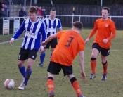 Action from Shaw Lane 2-2 Glossop North End