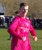 Shane Kelsey scored Shaw Lane Aquaforce's second goal in the 2-0 win over Parkgate