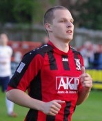 Marc Cooper scored twice for Cleethorpes
