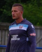 Farsley AFC goalkeeper Tom Taylor won the young player of the year for the Evo Stik Division One North last night