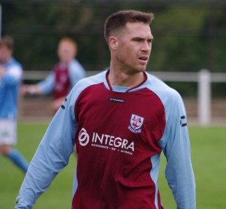 AFC Emley striker Kieran Ryan is the club's new captain