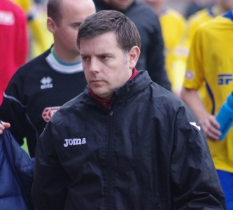 Stocksbridge Park Steels manager Chris Hilton