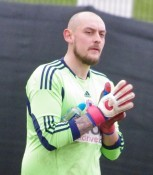 Shaw Lane Aquaforce goalkeeper Ian Deakin may miss the rest of the season with an achilles injury