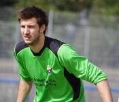Ben Hunter had a difficult debut for Ossett Town