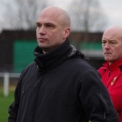 Paul Stansfield (left) and Mark Smitheringale (right) are remaining in charge of Knaresborough