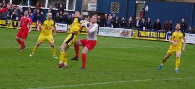 Corner heads Tadcaster's fourth goal