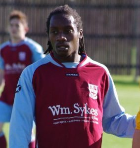 Aaron Joseph is back playing for AFC Emley