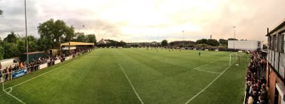 A packed Sandy Lane. Picture: (Twitter) @BCAFCBH