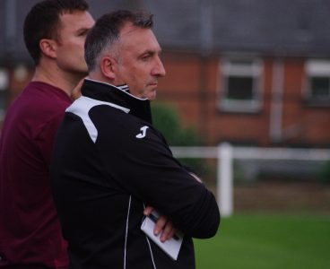 AFC Emley manager Darren Hepworth