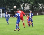 Action from Glasshoughton 5-1 Yorkshire Amateur. Picture: Malcolm Lumb