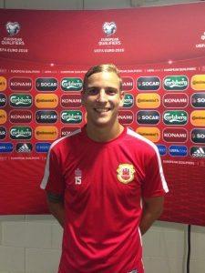 New Alfreton Town striker Adam Priestley