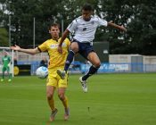 Action from Guiseley 1-4 Bromley. Picture: alexdanielphotos.co.uk