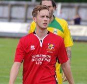 Joel Sutton scored a hat-trick for Bridlington Town at Handsworth