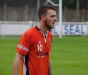 Luke Parkin's double kept Brighouse top of the Division One North table